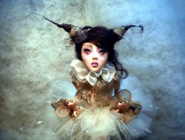 Ballerina BJD inspired frontB by cdlitestudio
