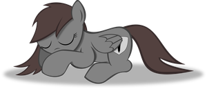 Shhhh: Sleeping Pony In Progress by TheShadowStone