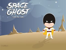 Space Ghost cute to cute by Je2Design