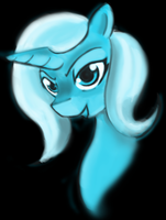 The great and powerful trixie by gunslingerpen