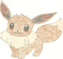 Eevee, the Evolution Pokemon by hellogoodbye1121