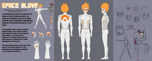 Space Glove Character Sheet by Amazinglagann
