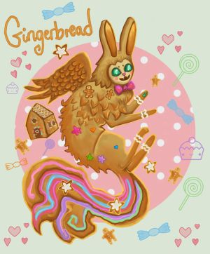 Gingerbread Beryle [open] For Sale by Cinder-Cat
