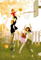 Slam dunk..sort of.. by PascalCampion