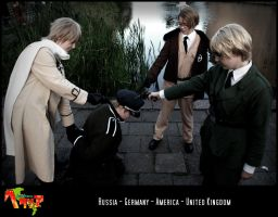 APH-cosplay: Caught by Kumagorochan