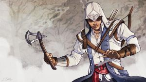 TNS: Connor form Assassins Creed 3 by ElizabethBeals