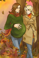 Nellike Forest Walk Colored by Arayuu