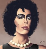 Sweet Transvestite by thefoxandseal