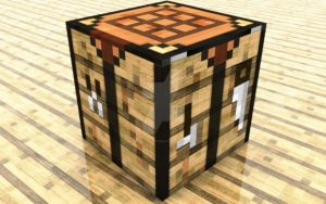 Minecraft Craftingtable by TheOneAndOnlyCreator