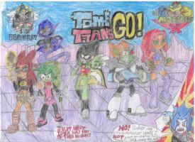 TOME Titans GO! (A JoeyCool 1210 Request) by MorphiusX