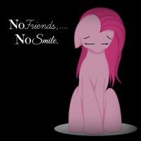 No Friends, No Smile. by LeoXRarity