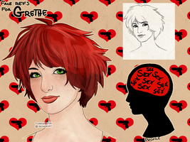 Face refs: GRETHE by Codename70H