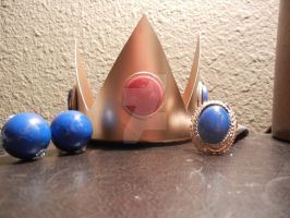For Sale: Princess Peach Accessory Set by skipperofotters05