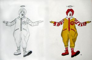 Holy Ronald McDonald by logaan
