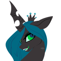 Queen Chrysalis by Mintatheena