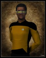 Geordi LaForge by celticarchie