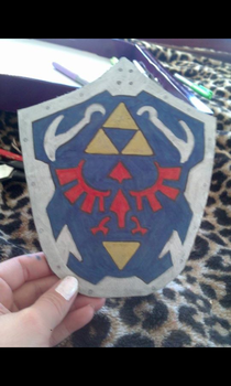 I made a sheild :P by LillithLaviathan