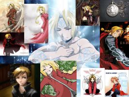 Wall of edward elric by shinigami-luver