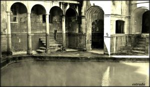 Roman Bath House by Estruda