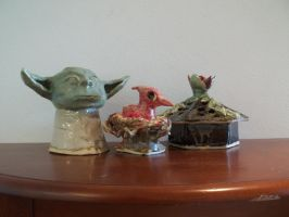 Ceramics 2 hand-building projects by crimsonblossom42