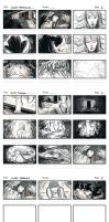 Mini Storyboard Assignment - Surreal Dreams by izzyleidlwilson