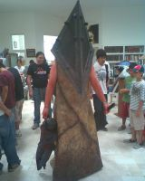 Pyramid Head Silent Hill by KyubiNabruto