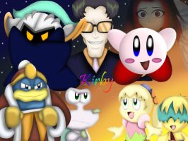 The Kirby Crew by StellasStar
