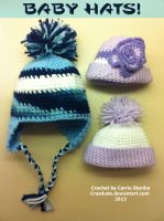 Random baby hats for random newborns by Crazdude