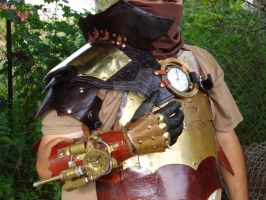 Steampunk Armor,Gauntlet etc.. by tungstenwolf