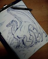 Smaug Concept by dragonhunter2323