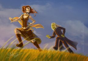 Catch me if you can by Draco-Stellaris