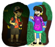 Mabel and Dipper Pines Final by Twilightzonegirl13