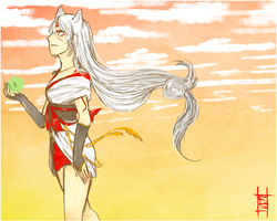 Okami: Rising Dawn by cheonchi