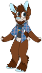 30 day outfit challenge - Day 1 by Deer-dog