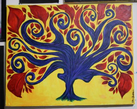 Surreal Tree by Dhria