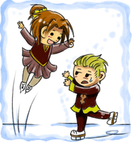 Request - Ice Dancing by Aloof-Star