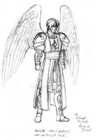 Michael the archangel by Aremke