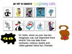 My Top 10 Favorite Cats by ElMarcosLuckydel96