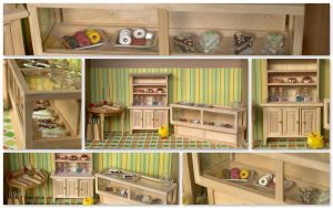 Miniature store by Sandien