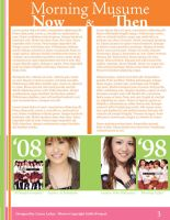 Morning Musume Newsletter 3 by KawaiiAyu