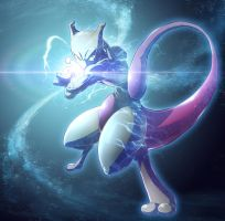 Mewtwo by KickTyan