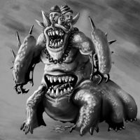 The Beast of Drul by king-worm