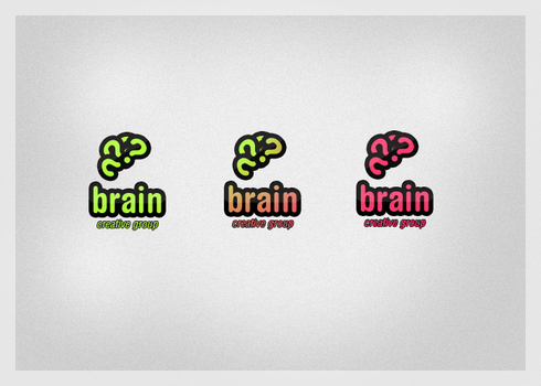 Brain Logotype by cardinale-c