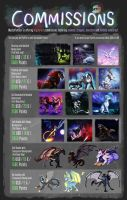 Commission Price Sheet 2017 by MustaPantteri