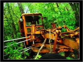 Construction Machine In Forest by ScaperDeage