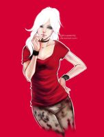 Girl In Red by dim-serenity