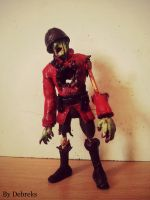 TF2 - Soldier voodoo cursed Zombie figure by Debreks