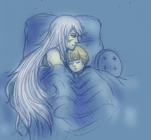 APH: Late night by tenshiamanda
