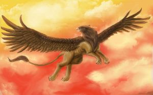 Gryphon by Ruth-Tay