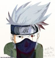 Features of Kakashi. by VeIra-girl